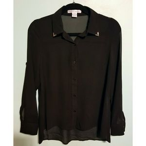 Sans Souci LBBD (Little Black Button Down!)